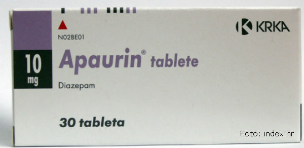 Apaurin tablete