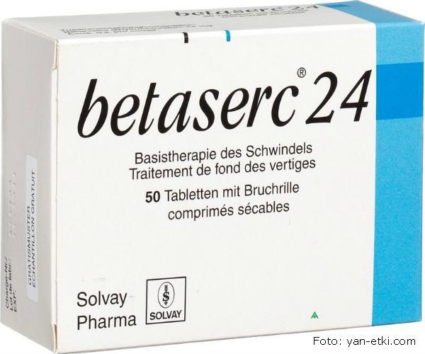 Betaserc tablete