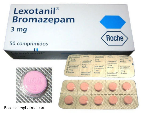Bromazepam tablete