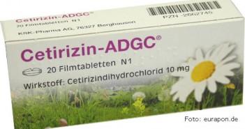 Cetirizin tablete