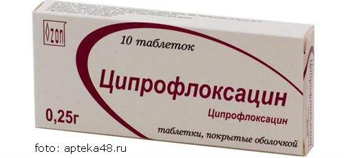 Ciprofloksacin antibiotik