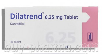 Dilatrend tablete