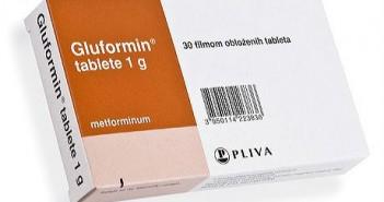 Gluformin tablete