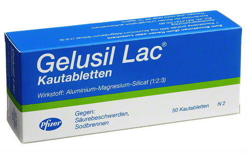 Gelusil lac tablete