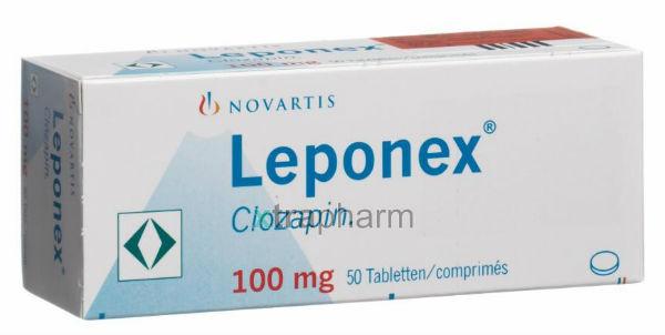 Leponex lek