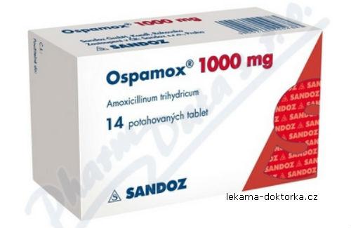 Ospamox tablete