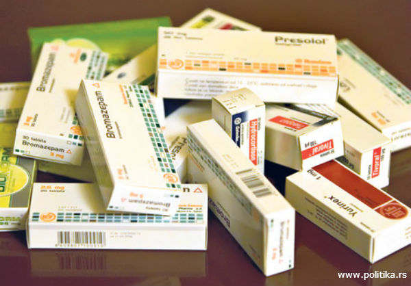 Presolol tablete