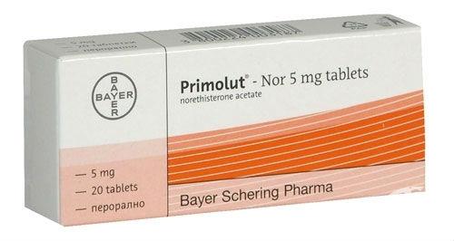 Primolut nor tablete
