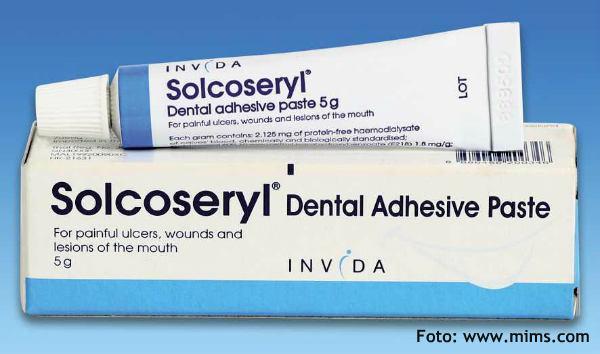 Solcoseryl gel