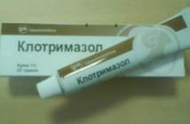 Klotrimazol mast