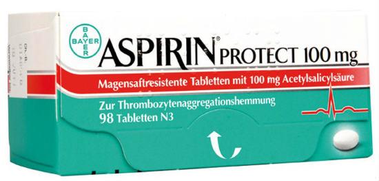 Aspirin protect lek