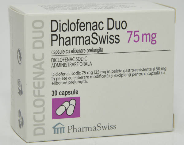 Diclofenac duo tablete
