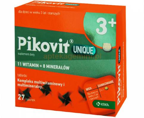 Pikovit vitaminski preparat lekovi for Folna kiselina u tabletama
