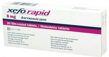 Xefo rapid tablete